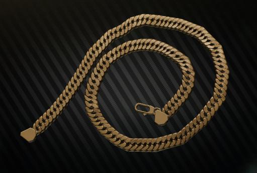 Golden neck chain