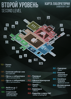 The Lab - Screenshot map level 2