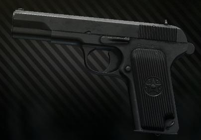 TT pistol 7.62x25 TT