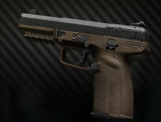 FN Five-seveN MK2 FDE Frame 5.7x28 pistol
