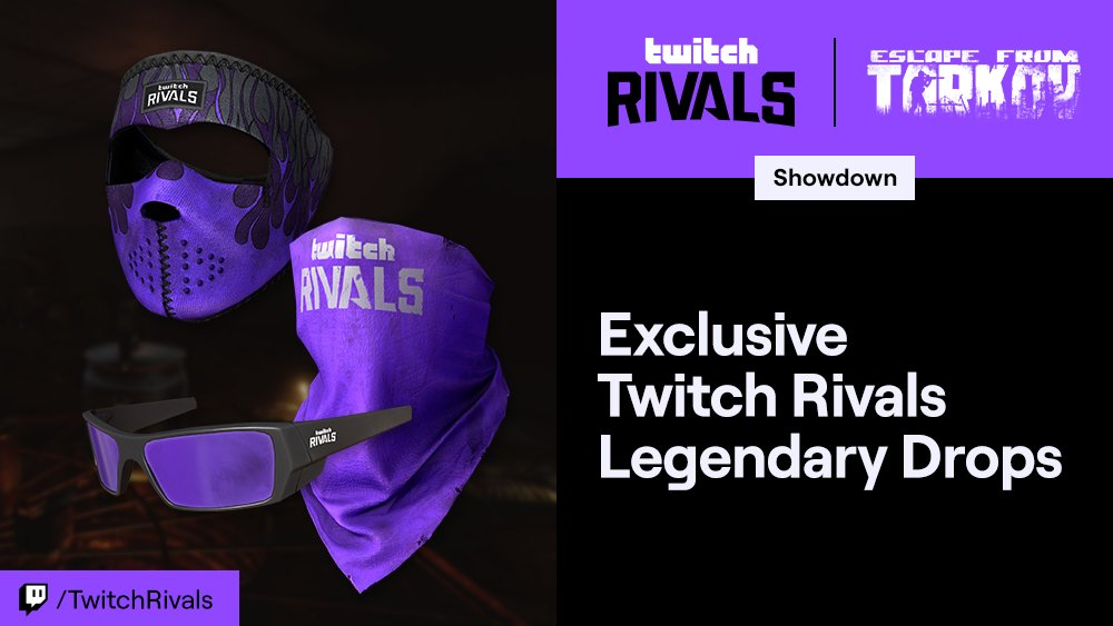 Twitch Rivals 2020 mask