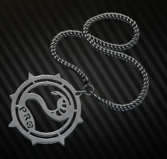 Chain with Prokill medallion