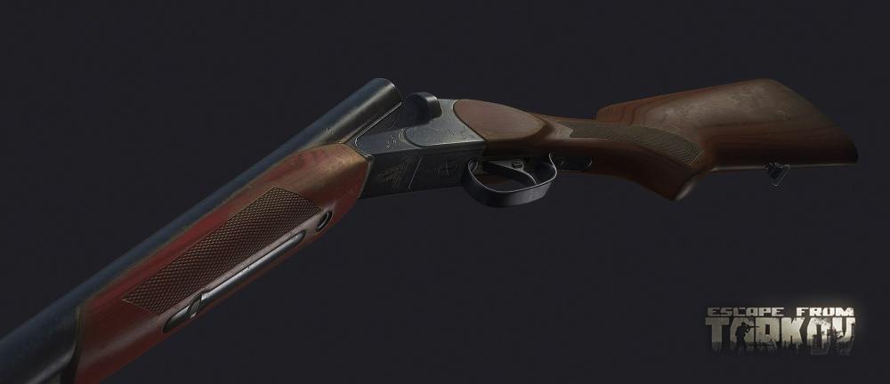 MP43e double-barrel shotgun