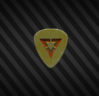 Veritas guitar pick back