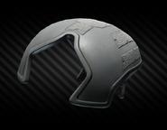 Caiman Hybrid Ballistic Applique (black) front