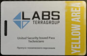 Lab. Yellow keycard