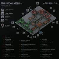 The Lab - Screenshot map level basement