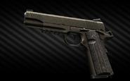 Colt M45A1 .45 ACP pistol left