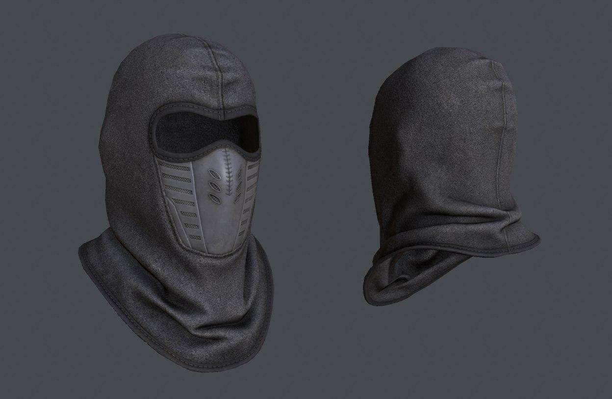 Smoke face mask