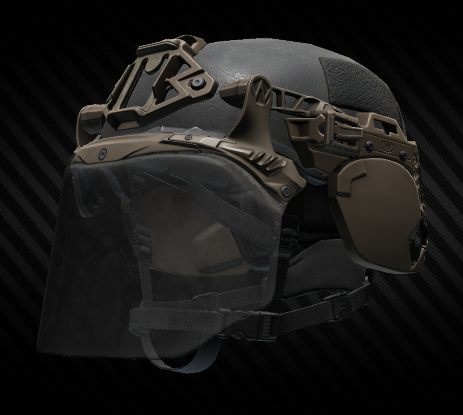 TW EXFIL Ear Covers Coyote
