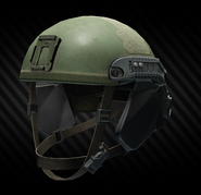 LZSh light helmet with Fast Side Armor