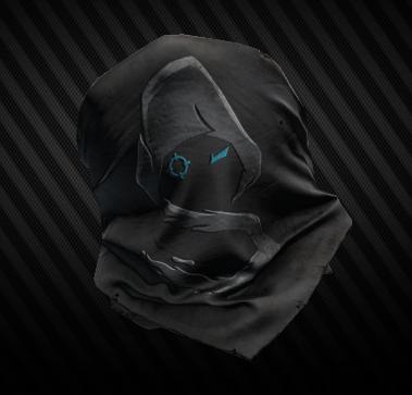 Shroud half-mask