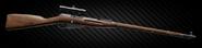 Mosin bolt-action sniper rifle - PU scope right