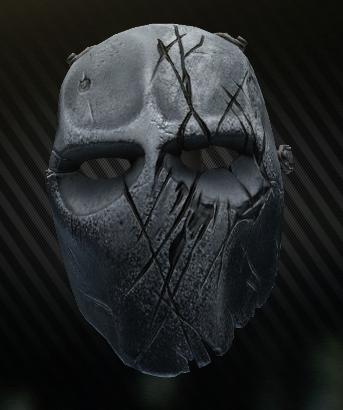 Light armored Shattered mask