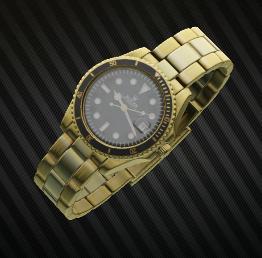 Roler submariner gold wrist watch