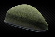 Olive beret front