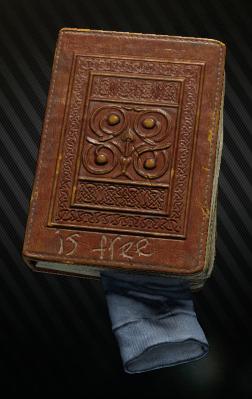 Battered antique Book