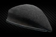 Black beret front