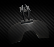 Caiman Fixed Arm Visor front