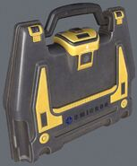 Secure container Omicron - 3D render