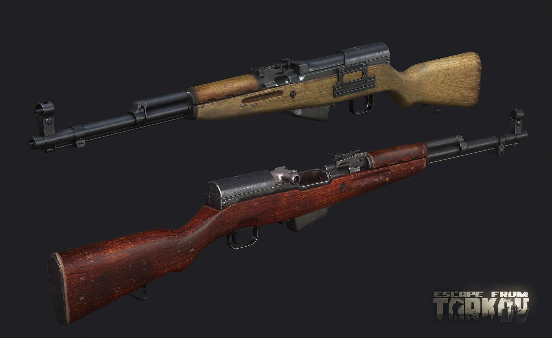 Simonov Semi-Automatic Carbine SKS 7.62x39 Hunting Rifle Version