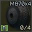 4-shell M870 12ga magazine cap icon.png