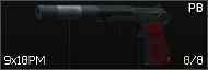 PB 9x18PM silenced pistol icon2.png