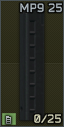 Standard 9x19 25-round magazine for MP9 icon.png
