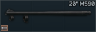 20in barrel for M590 12ga icon.png