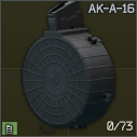 ProMag AK-A-16 73-round 7.62x39 magazine for AKM and compatibles icon.png