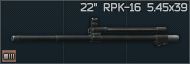22 barrel for RPK-16 and compatible 5.45x39 icon.png