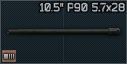 10.5 barrel for P90 5.7x28 icon.png