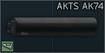 CAA AKTS AK-74 Buffer Tube for AK (foldable) icon.png