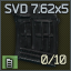10-round SVD 7.62x54 magazine icon.png