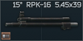 15 barrel for RPK-16 and compatible 5.45x39 icon.png