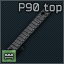 FN top rail for regular P90 upper receiver icon.png