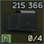 Metal magazine for VPO-215 and compatibles, .366 TKM 10-round capacity icon.png