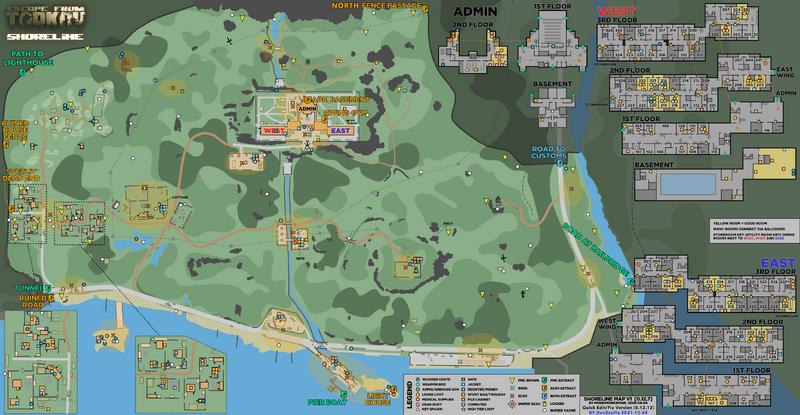 Shoreline The Official Escape From Tarkov Wiki