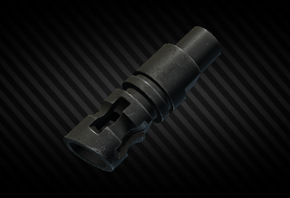 FN P90 5.7x28 flash hider examine.png