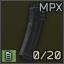 Standard MPX 20-round 9x19 magazine icon.png