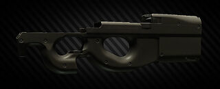FN PS90 stock examine.jpg