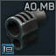 Anarchy Outdoors Muzzle Brake .45 ACP icon.png