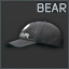 Black BEAR Cap Icon.png