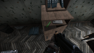 Lab. key. Arsenal storage room Location Dorm 215.png