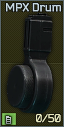 MPX drum 50 magazine icon.png
