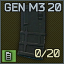 PMAG M3 20 AR magazine icon.png
