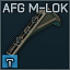 AFG MLOK flat dark earth icon.png
