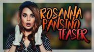 ROSANNA PANSINO TEASER! - Escape The Night S4