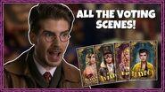 All The Voting Scenes! Episodes 1-9 Escape The Night Season 4