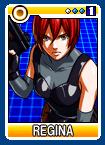 Regina Card SNK vs Capcom DS